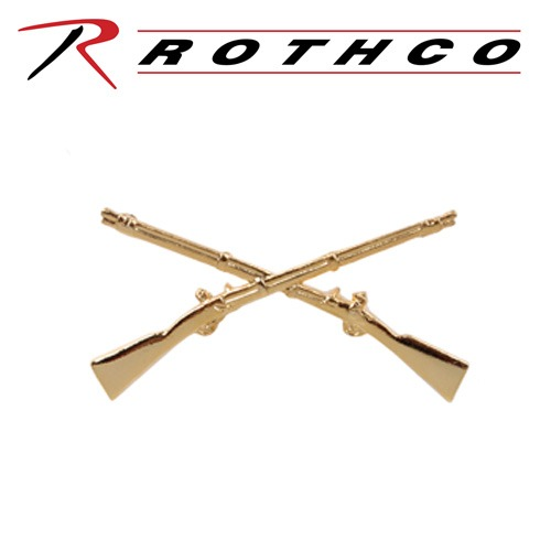 ROTHCO 로스코 OFFICERS INFANTRY PIN 1751 뱃지 세트